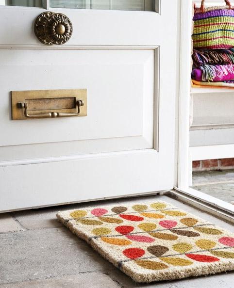 Orla Kiely Leaves doormat, £30 from Heal's.