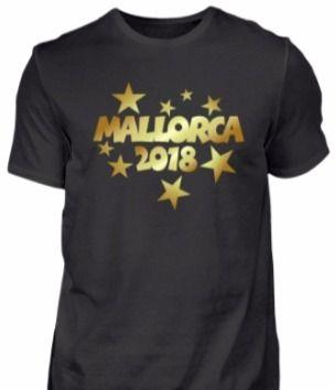 Mallorca 2018 T-Shirts und Tops für einen glänzenden Auftritt bei der Malle Party 2018.
