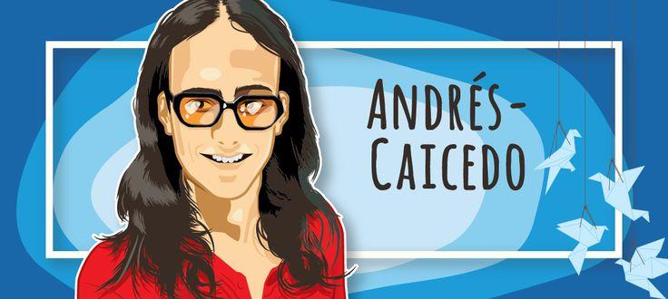Andrés Caicedo - vector illustration