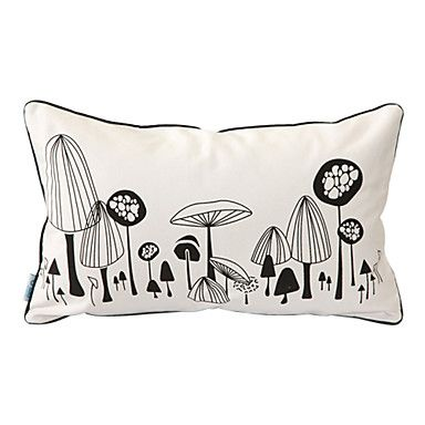 Home Textiles - Throws \u0026 Pillows - Print Novelty Mushroom Decorative Pillow Cases