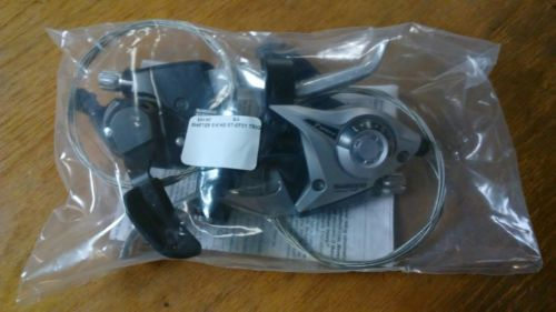 Shifters 177824: Shimano Mtb Bike Brake Levers Set Brake Shifter Shift 3X7 Speed St-Ef51 Silver -> BUY IT NOW ONLY: $30 on eBay!