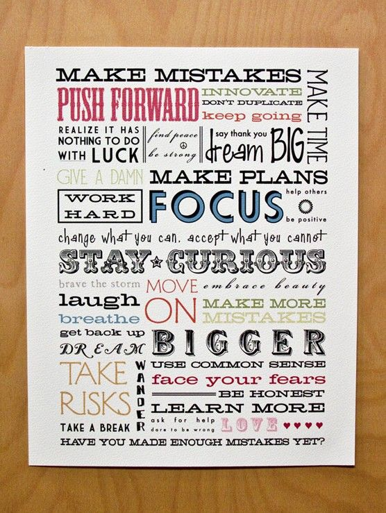 Stay Curious: Words Of Wisdom, Stay Focus, Dreams Big, Make Mistakes, Fonts Style, Quotes Posters, Inspiration Posters, Inspiration Quotes, Inspirational Posters