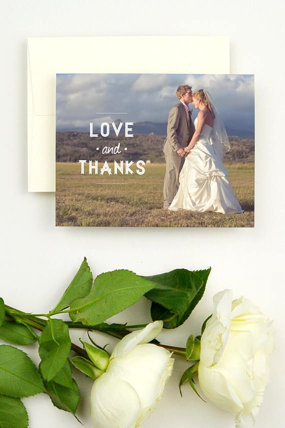 personalized wedding thank you notes%0A The Haystack wedding thank you card by Hello  June features a rustic   Love   u     Thanks   design laid upon one of your many beautiful wedding photos