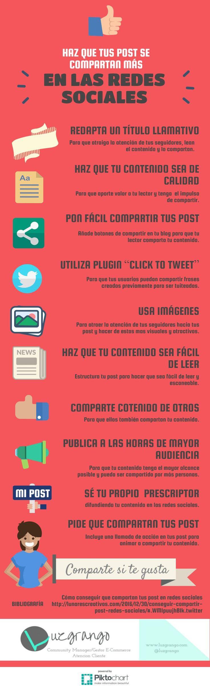 Estos son los 10 consejos que debes seguir para hacer más virales tus publicaciones en las Redes Sociales. ¿Quieres descubrirlos?