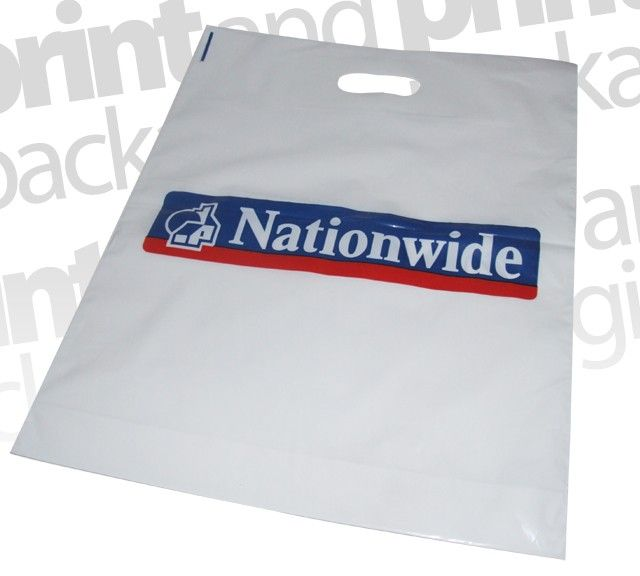 Nationwide Building Society | Patch Handle Carrier Bags