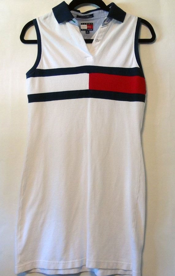 Reserved Vintage Tommy Hilfiger Polo Dress S M Etsy Dresses Fashion
