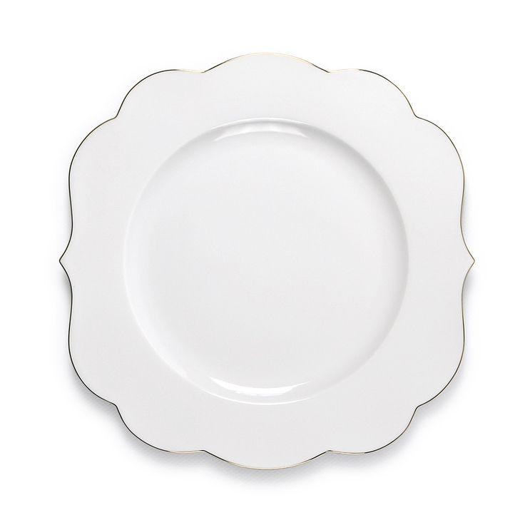 Discover the Pip Studio Royal Pip Dinner Plate - White at Amara