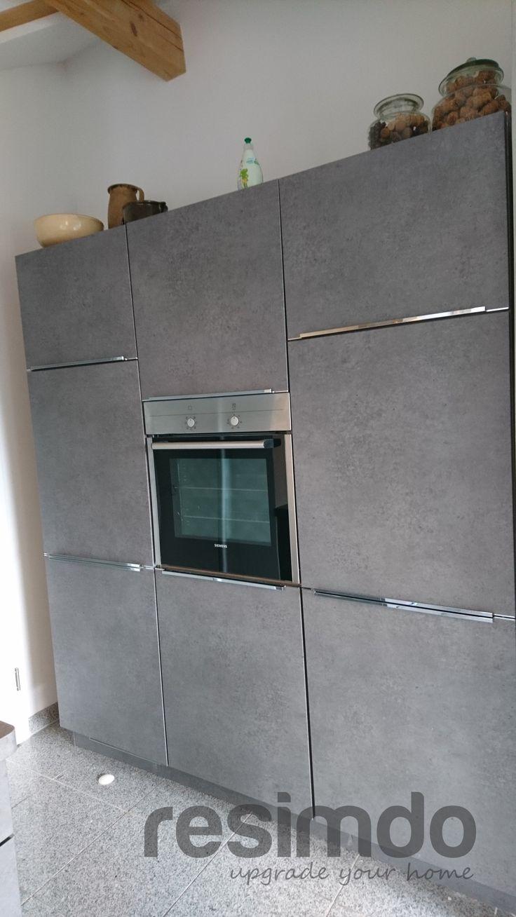 New Foliertes K chenelement mit M belfolie von resimdo K chenprojekt K che kitchenremodel K chenplanung Ikeak che
