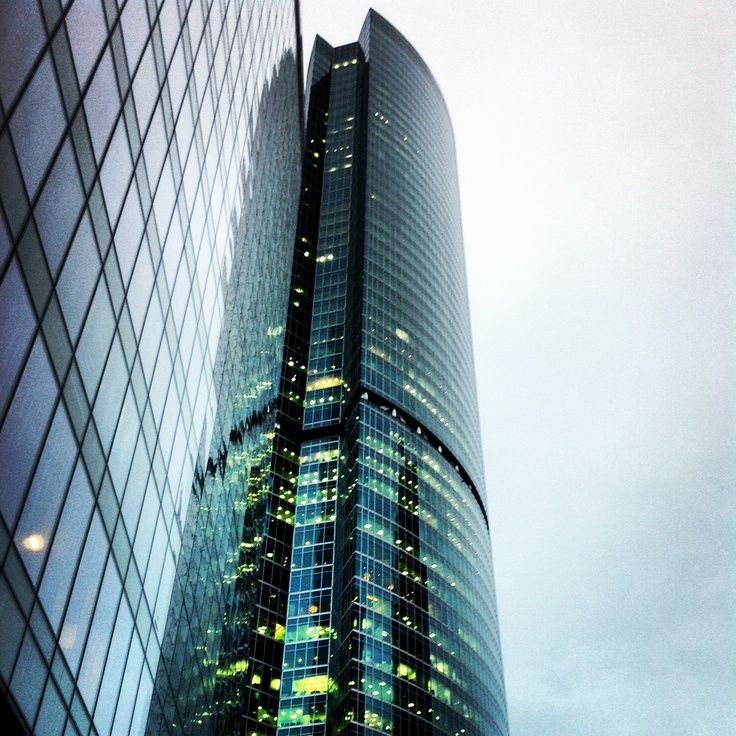 federation tower, moscow city, russia