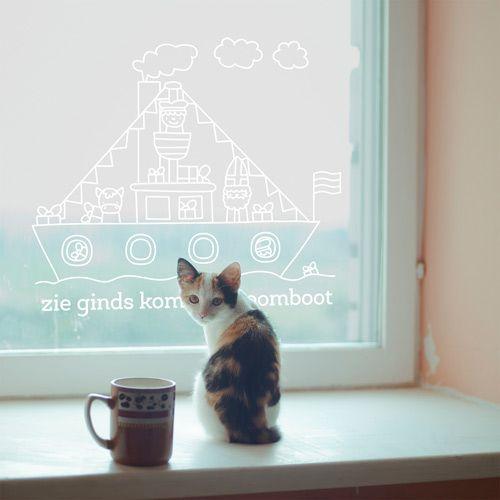 Wonenonline: Raamtekening verrijkt Nederland met creatieve raamkunst