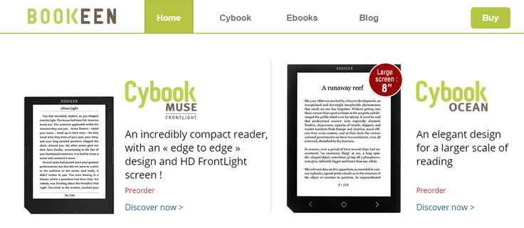 Ready, steady, go! #CybookMuse and #CybookOcean pre-orders are now OPEN on our site!