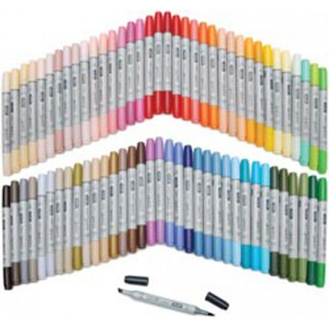 Copic Ciao Markers 72 Piece Set-Set B