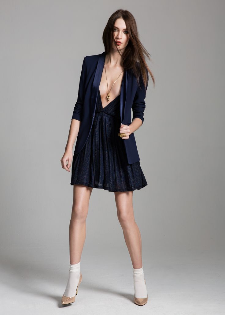 Danill dress, Jarret jacket & Pia heels #Danill #dress #Jarret #jacket #Pia #heels #AW14 #Lookbook #SuperTrash