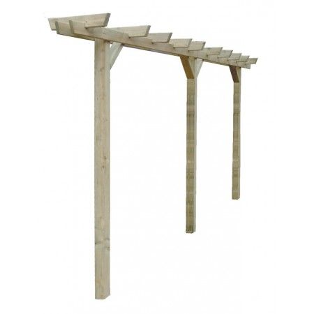 Single Bar Pergola - Garden Structures - Garden Buildings - Fountain Timber Products