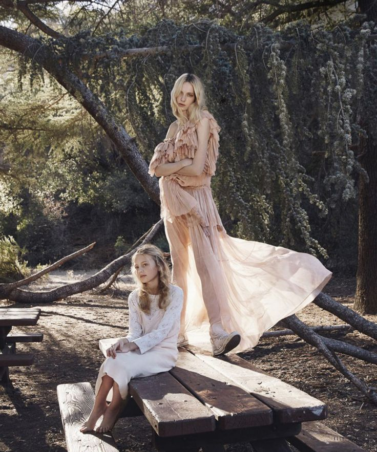 Lost in Pristine Nature - From the #RobertoCavalliSS16 collection by Peter Dundas this amazing editorial featured in the March issue of Elle Usa.