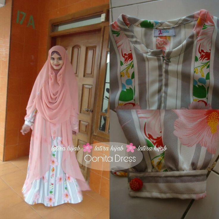 Abaya muslimah. Gamis Dress Muslim. Hijab Muslim. Khimar Muslim. For order +6282234612290.