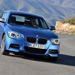 Blue BMW M135i