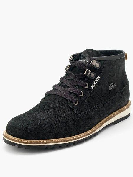 Lacoste Black Delevan Mens Boots