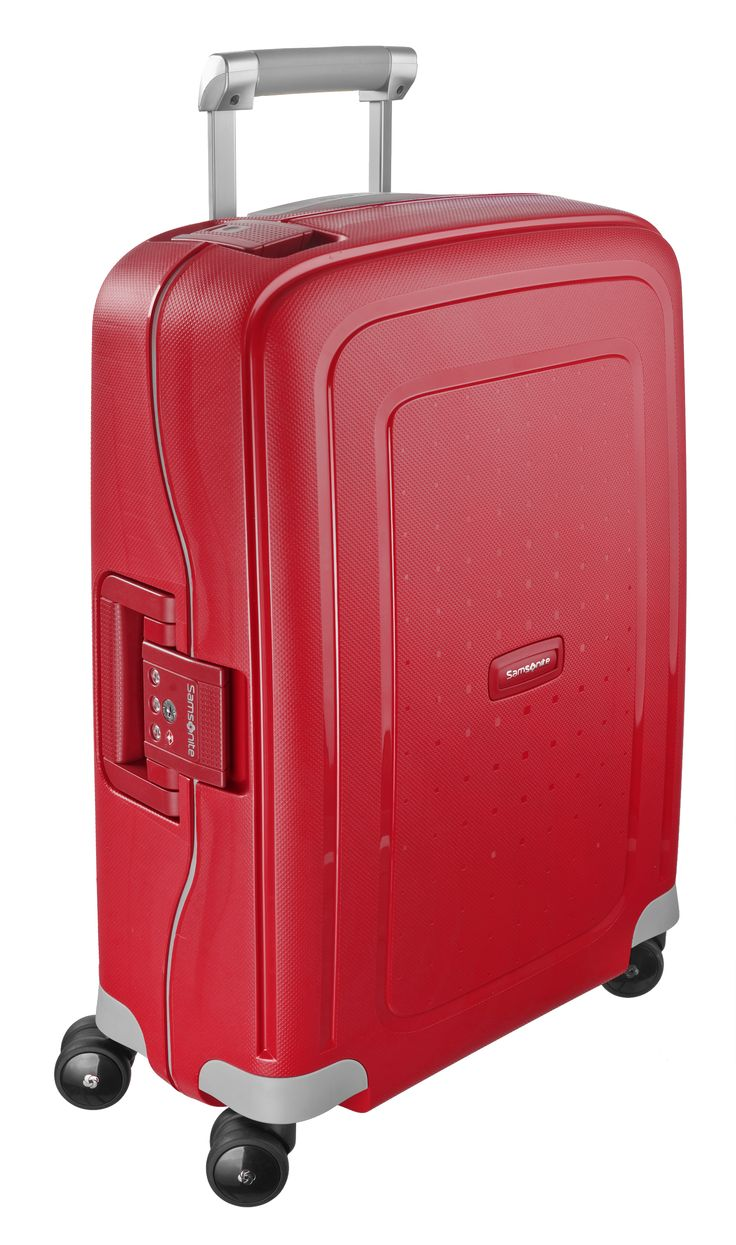 S'Cure Crimson Red 69cm #Samsonite #SCure #Travel #Suitcase #Luggage #Strong #Lightweight #MySamsonite #ByYourSide