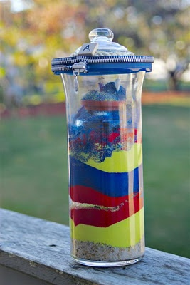 Learn how to make a rainbow ant farm.  May be kinda nerdy, but this sounds cool!