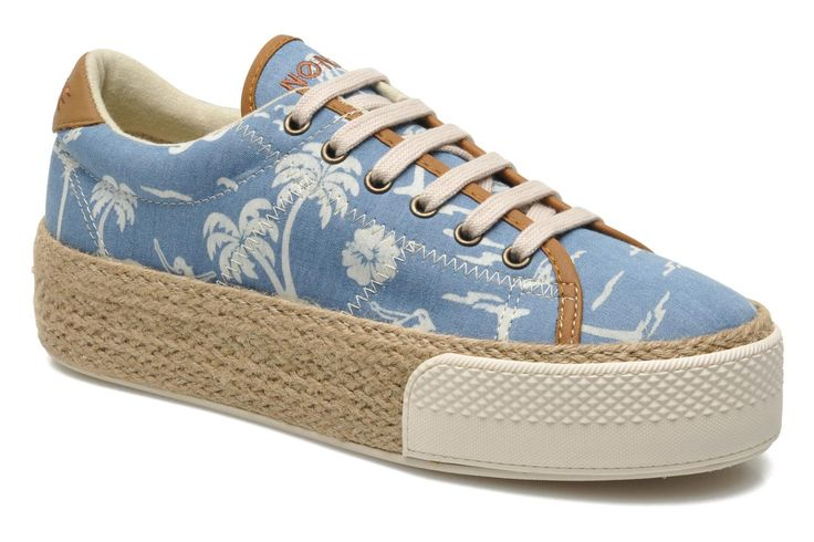 No Name Sunset Sneaker Aloha (Bleu) - Baskets chez Sarenza (211276)