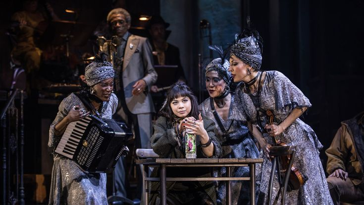 Anais Mitchell S Hadestown Musical Makes Its Broadway Debut Musicals Tony Awards Broadway