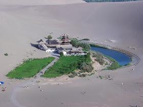 Una Ventana al Mundo: Lago de la Media Luna, ¿el fin de un oasis?