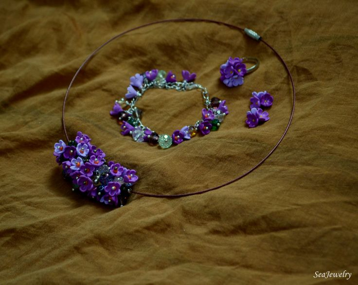 Lilac flowers by SeaJewelry