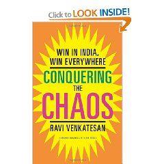 "Ravi Venkatesan's book ""Conquering the Chaos: Win in India, Win Everywhere"""