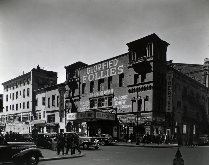 Irving Place Theatre, Irving Place, from Northeast corner of Irving Place and East 15th Street, Manhattan. (September 08, 1938). NYPL Digital Gallery.