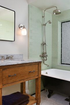 clawfoot tub and shower combo. clawfoot tub shower Bathroom Traditional with above ground bathroom Best 25  Clawfoot ideas on Pinterest