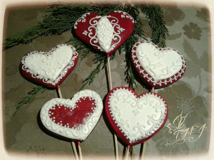 Gingerbread cookie on stick heart by TMJcreative.