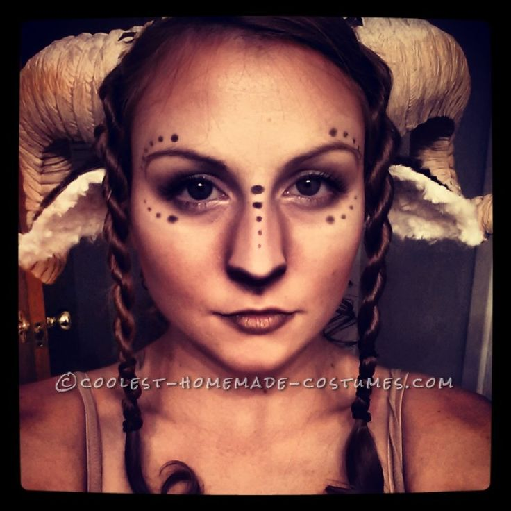 Halloween-costuming-Beautiful Homemade Satyr Costume ... This website is the Pinterest of costumes