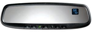 HomeLink Compass/Temperature Auto-Dimming Mirror for VW, Audi Homelink. Compass and Temperature. Includes VW-Audi Mount Adapter. Auto-dimming. Includes: wire cover and color-coded, easier to install harness.