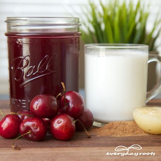 3 Natural Sleep Aid Drinks -tart cherry juice contains melatonin, and the age old warm milk or chamomile and lavender tea cure