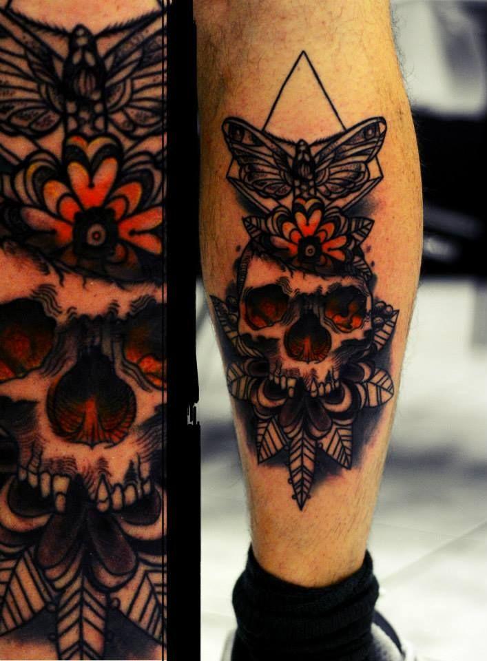 #tattoo #skulls