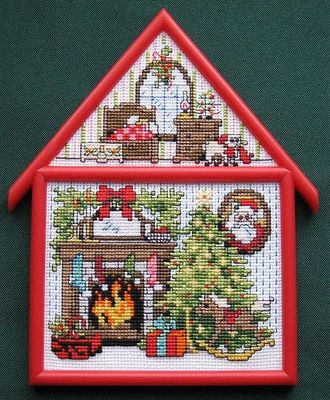 Bucilla Christmas Cottage Hutch Jorja Hernandez Design