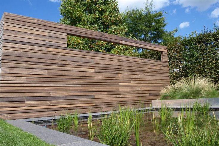 Tuinafsluiting padoek houses gardens pinterest tuin google and wands - Latwerk houten ...