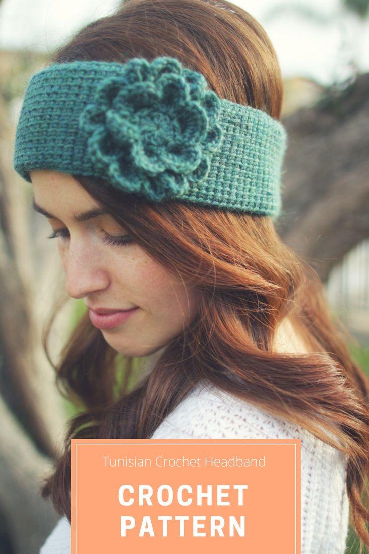 Tunisian Crochet Headband Pattern  Tunisian crochet will give you a