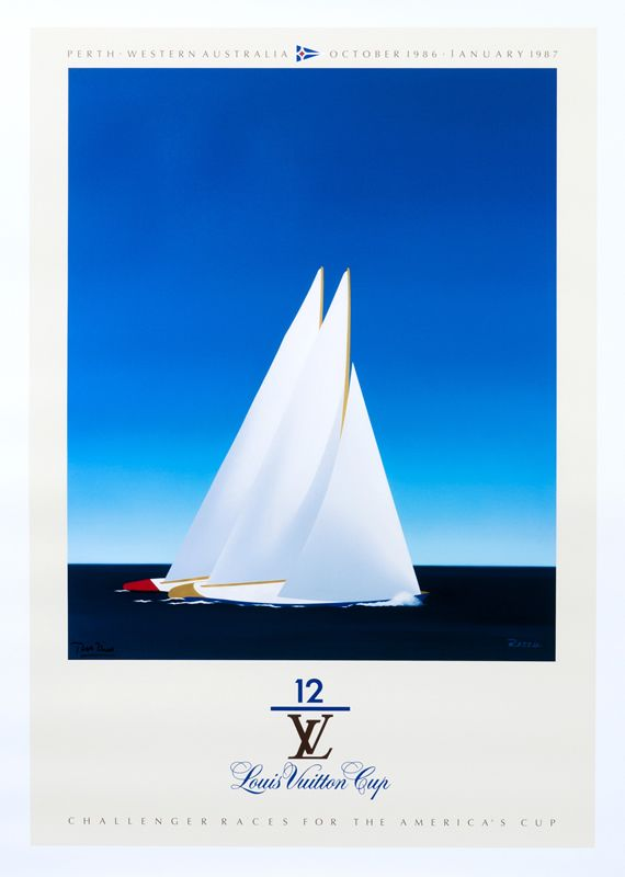Louis Vuitton Cup - America's Cup - Perth Western Australia (medium format open edition) by Razzia