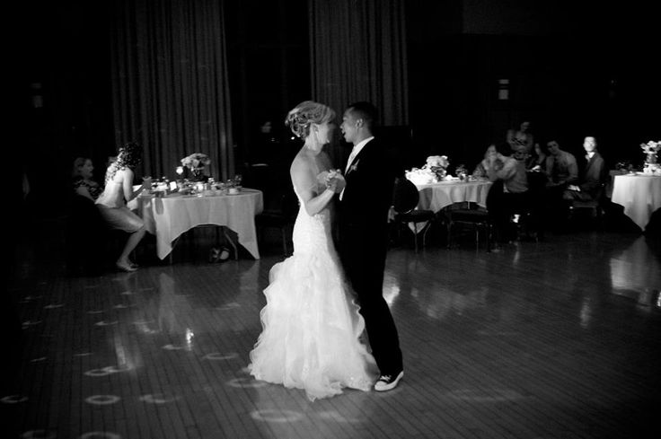 You can create your first dance to be even more romantic by choosing a song with lyrics that represent your love, as well as incorporating unique lighting and even a fog machine.  #firstdance #dance #ravenluxuryevents #weddingdance #dancing  Photo Source: https://www.flickr.com/photos/blissamanda/4152339910/