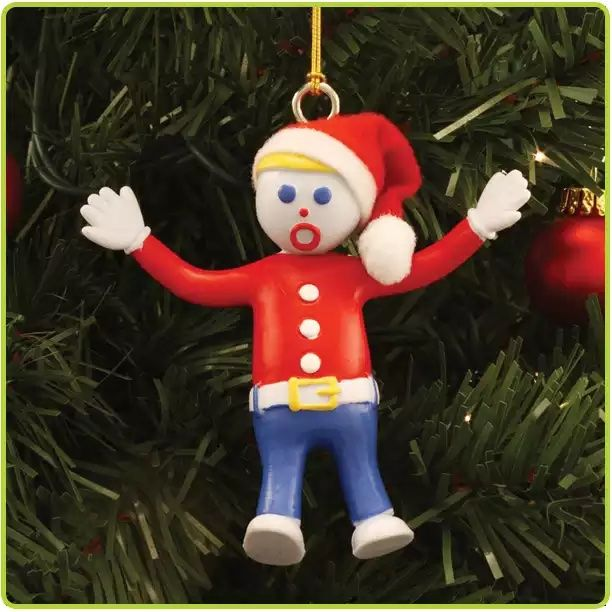Gumby Bendable Holiday Tree Ornament