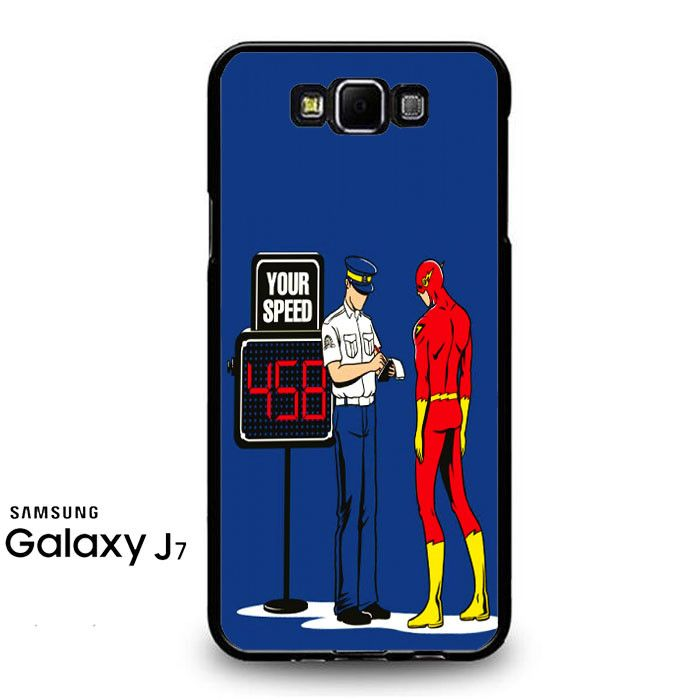 The Flash Speeding Ticket Samsung Galaxy J7 Prime Case
