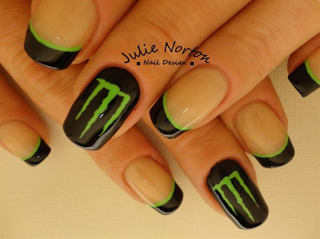 Monster Energy Nails by Stoneycute1