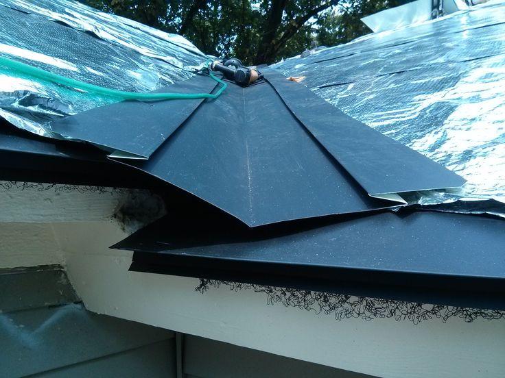 Metal Roof Purlins Over Shingles | Metal roof repair ...