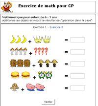 Exercice de math pour CP