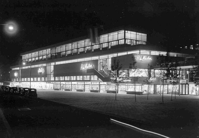 Dom Towarowy Ter Meulen Rotterdam 1948-1951 arch. J. B. Bakema, J. H. Van den Broek
