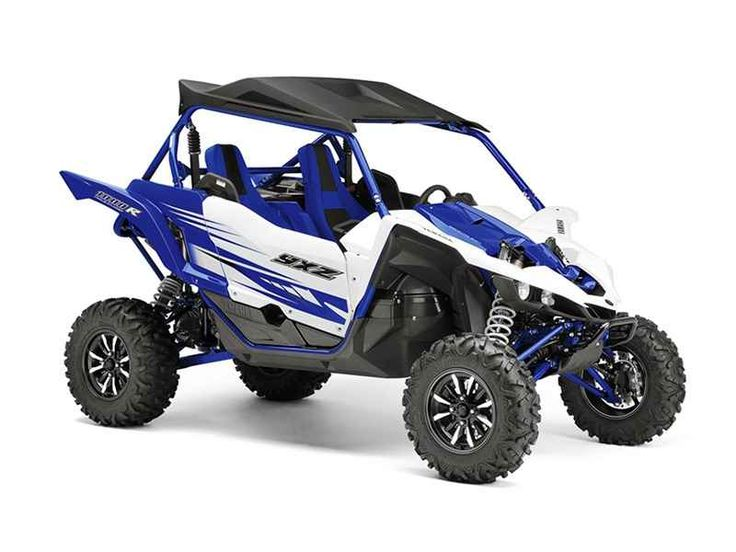 Used 2016 Yamaha YXZ1000R Racing Blue/White ATVs For Sale in Illinois. 2016 Yamaha YXZ1000R Racing Blue/White, recluse auto clutch, quick release windsheild 2016 Yamaha YXZ1000R Racing Blue/White w/Suntop THE WORLD'S FIRST PURE SPORT SIDE BY SIDE The all-new YXZ1000R. A sport 3 cylinder engine and class-defining 5-speed sequential shift transmission. Welcome to the ultimate pure sport SxS experience. Features may include: Unmatched SxS Performance The all-new YXZ1000R doesn t just reset the…