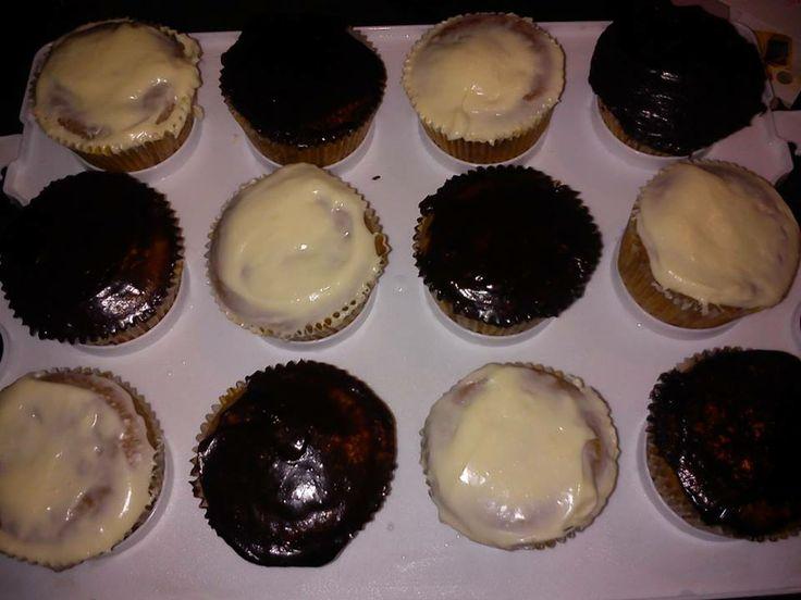 Vegan Cupcakes (chocolate and vanilla)