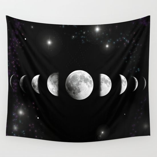 Buy Stars and Moons by nessieness as a high quality Wall Tapestry. Worldwide shipping available at Society6.com. Just one of millions of products available.